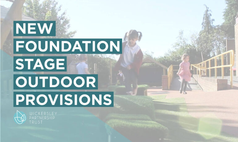 Brand New Foundation Stage Outdoor Provision