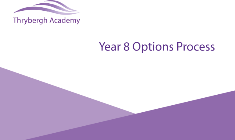 Year 8s start their options process