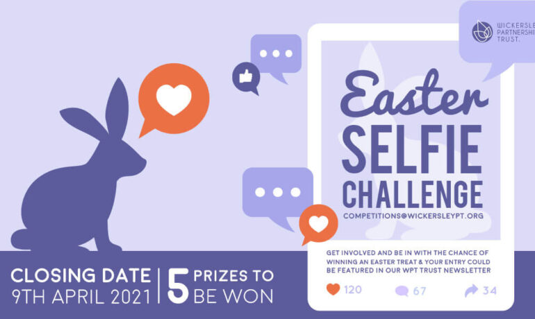 Easter Selfie Competition - prizes to be won!