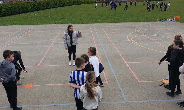 Get Work Ready - Wickersley Sixth Form students take lead on Primary PE lessons