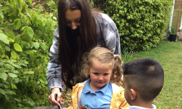 Get Work Ready - Wickersley Sixth Form students join WPT's EYFS Departments for Short-Term Placements