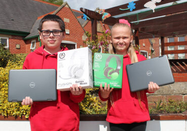 ASDA Parkgate Donates 10 Laptops And Support Bundles To Ashwood Primary School