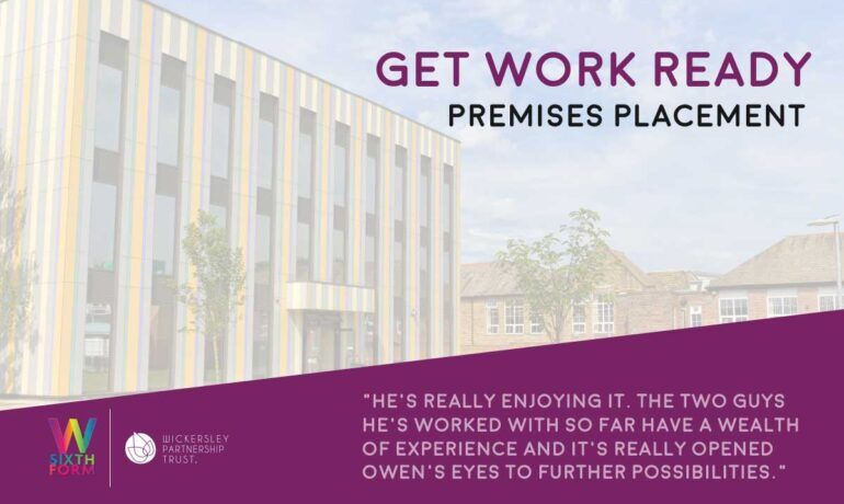 Get Work Ready: WPT's Premises Team welcome placement student, Owen