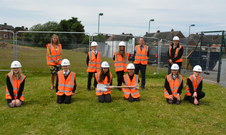 Construction Works Start On New Block at Rawmarsh Community School