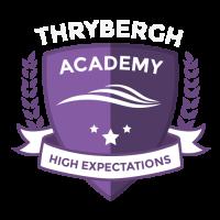 Thrybergh Logo - Colour - White Text - 2021